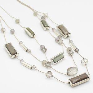 New York & Co. multi strand necklace